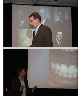 Dr. Charles Harding, DMD during a lecture